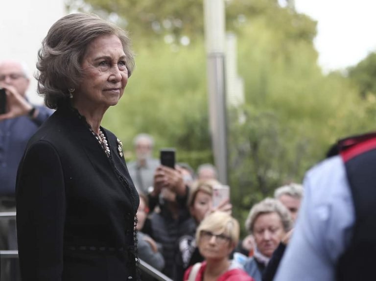 La Reina Sofía llora la muerte de Montserrat Caballé en un funeral cargado de emoción