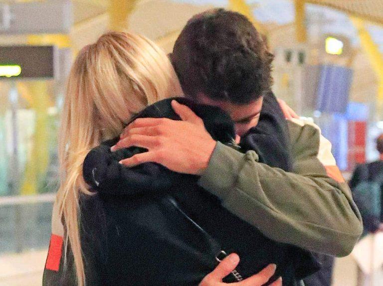 Anita Matamoros, tierna despedida con su hermano antes de poner rumbo a Milán