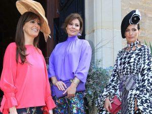 Nieves Álvarez y Nuria González, de boda en Sevilla