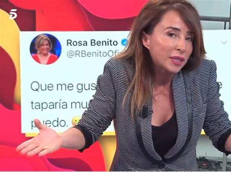 Las pullas entre María Patiño y Rosa Benito tras colgarse el teléfono