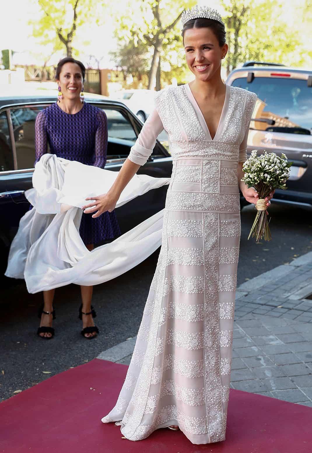Disenador vestido novia laura ponte