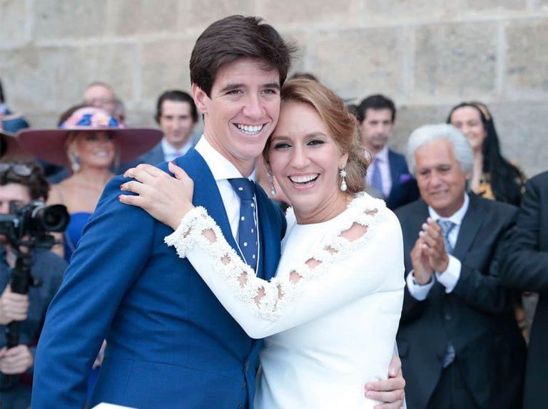 La romántica boda de María Toledo y Esaú Fernández