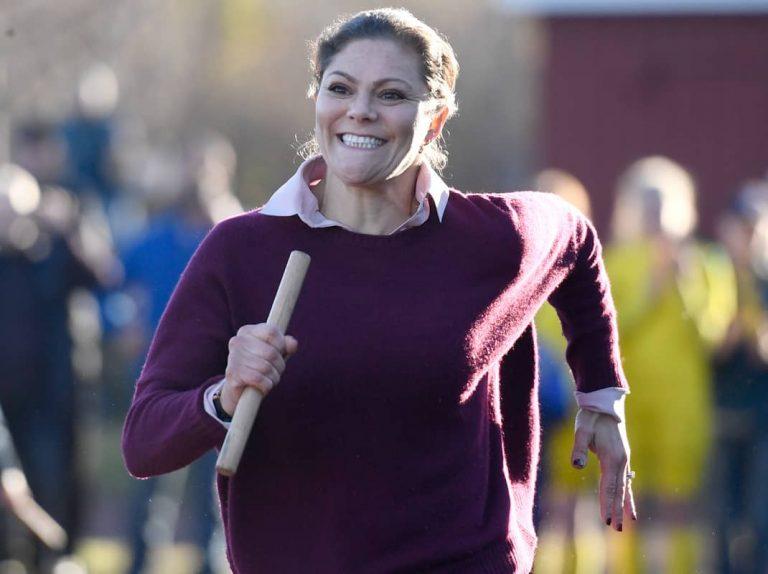 Victoria de Suecia, una corredora de fondo y sin complejos