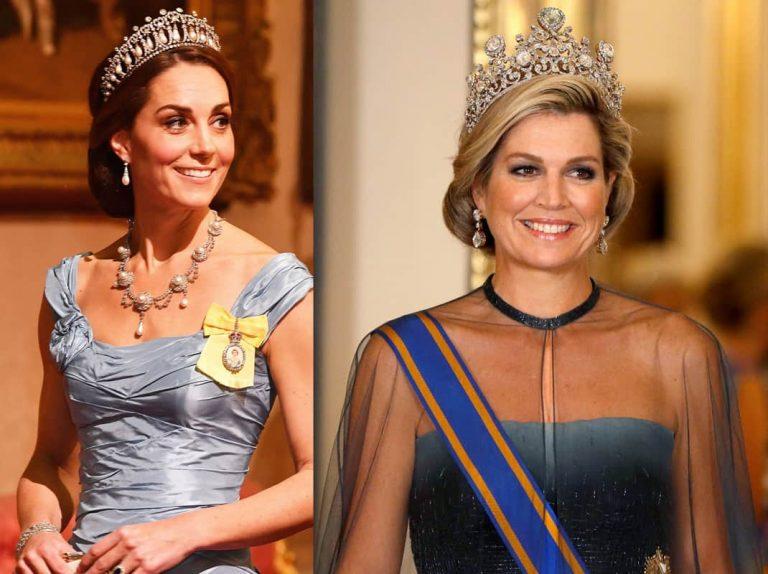 Máxima y Kate: espectacular duelo de tiaras en Buckingham