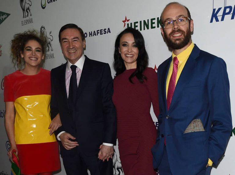 Pedro J. Ramírez se reconcilia públicamente con sus hijos en los premios de su periódico