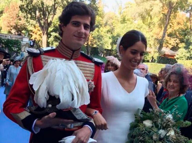 El baile nupcial y lo que no se vio de la boda de los futuros duques de Alba
