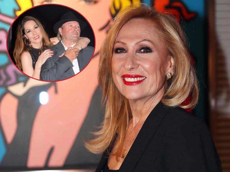 Amador Mohedano y Rosa Benito ni se saludan en el gran día de su hija, Rosario Mohedano