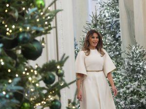 Melania Trump se ha pasado con la decoración navideña de la Casa Blanca