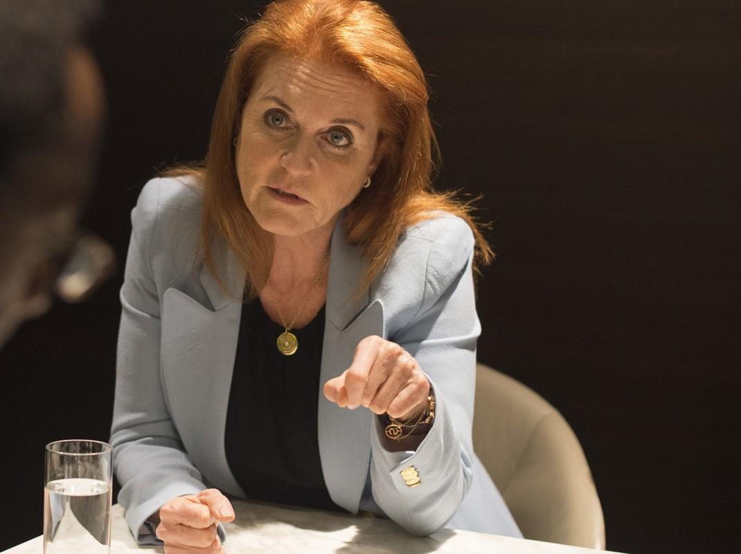 Sarah Ferguson en una imagen de archivo