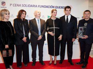 Ana Rosa Quintana, Margarita Vargas y Carlota Corredera no se pierden la cena benéfica de la Fundación Querer