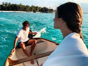 Feliciano López y Sandra Gago: todas las imágenes de sus vacaciones más especiales