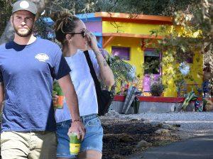 Así han quedado las casas de Miley Cyrus y Liam Hemsworth tras el incendio