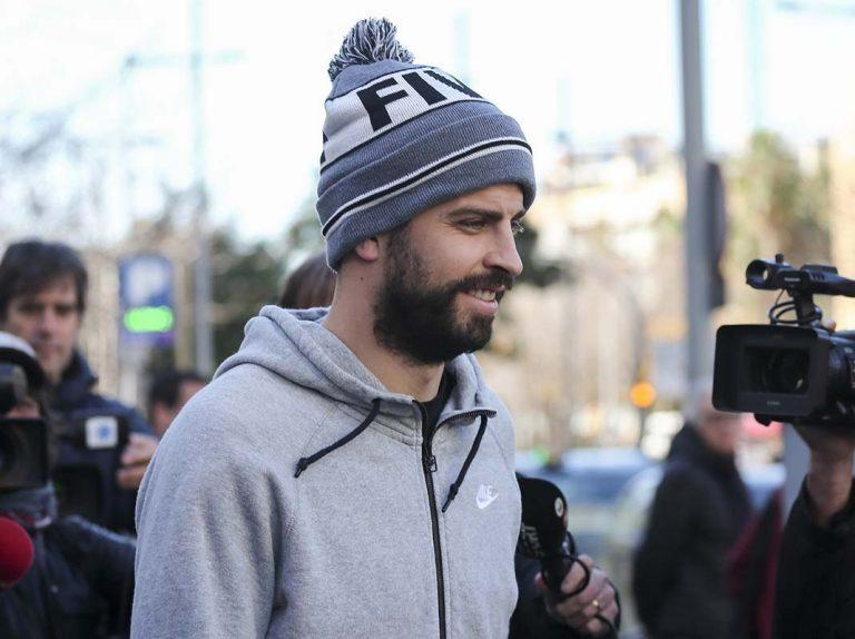 Gerard Piqué, condenado a pagar 48.000 euros por conducir sin puntos en el carné de conducir