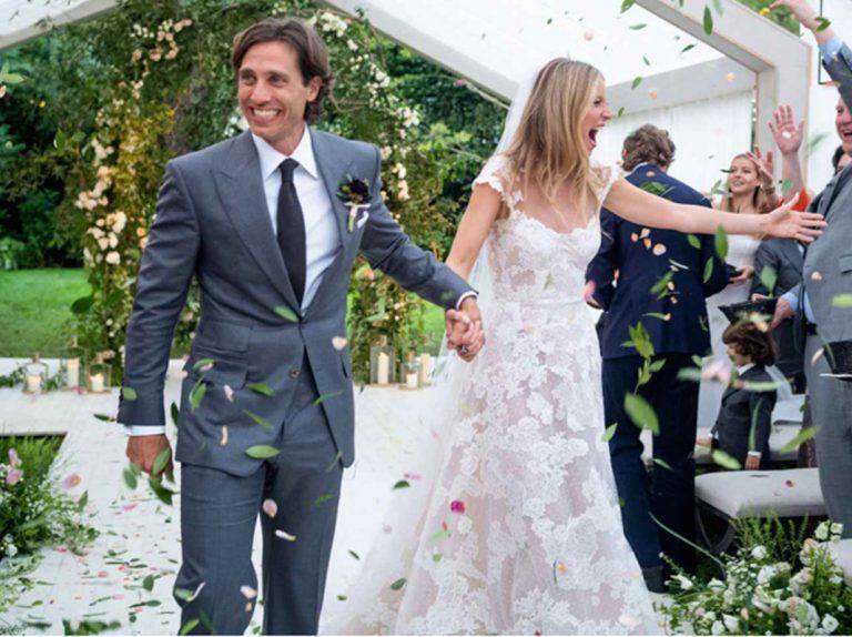 Las impresionantes fotos de la boda de Gwyneth Paltrow