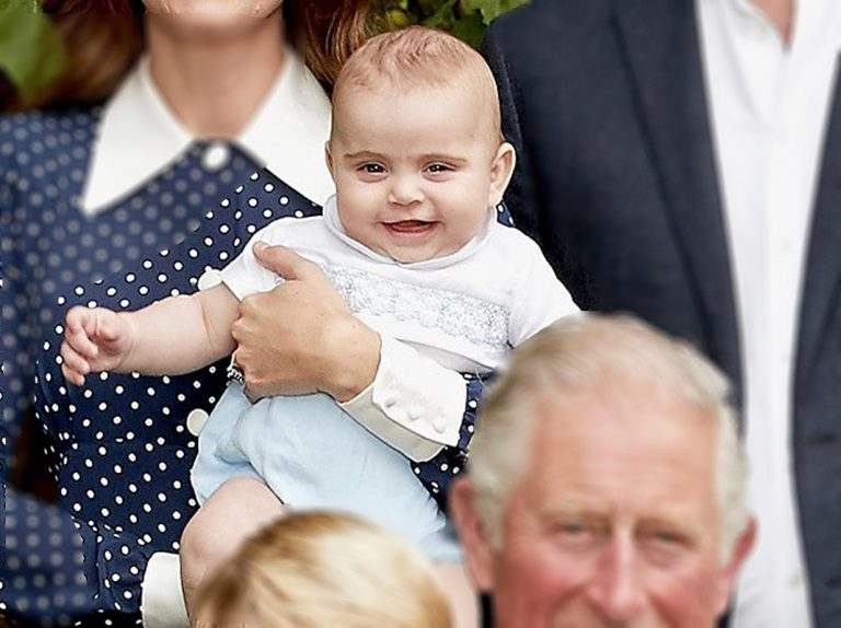 Así ha crecido el príncipe Louis, ¡y con moda española!