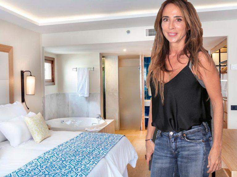 Así es el hotel de lujo en el que se ha alojado María Patiño