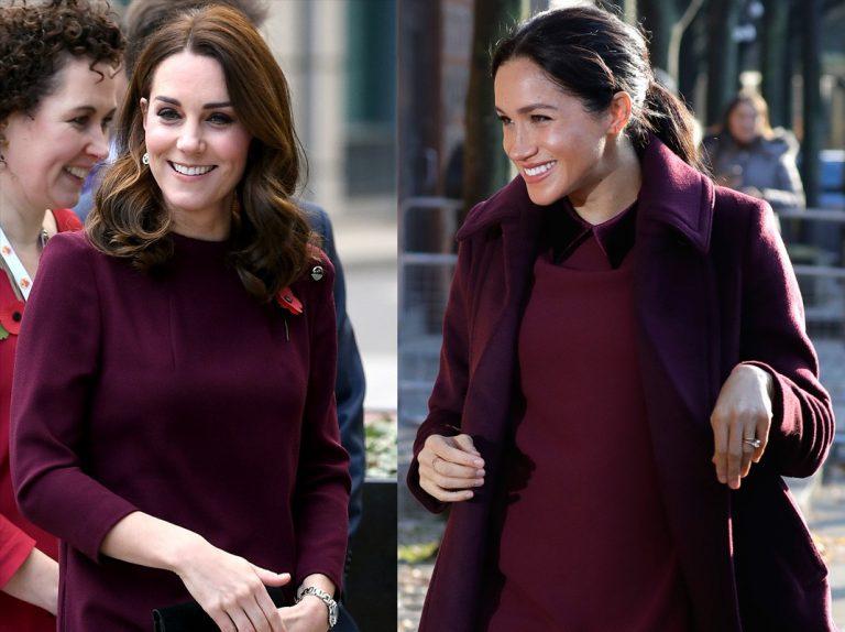 Meghan imita descaradamente a su cuñada Kate