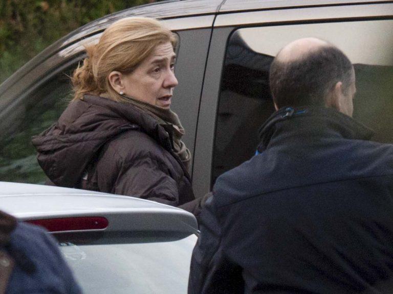 La infanta Cristina y sus hijos ya están en Vitoria para despedir el año con los Urdangarin