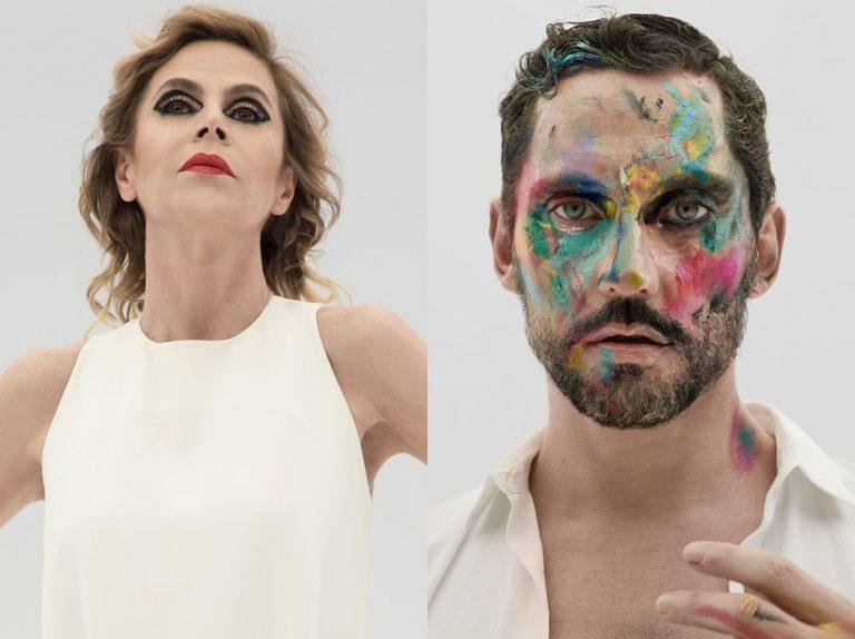 Paco León, Ágatha Ruiz de la Prada y Bárbara Lennie redefinen el concepto de «maquillar»