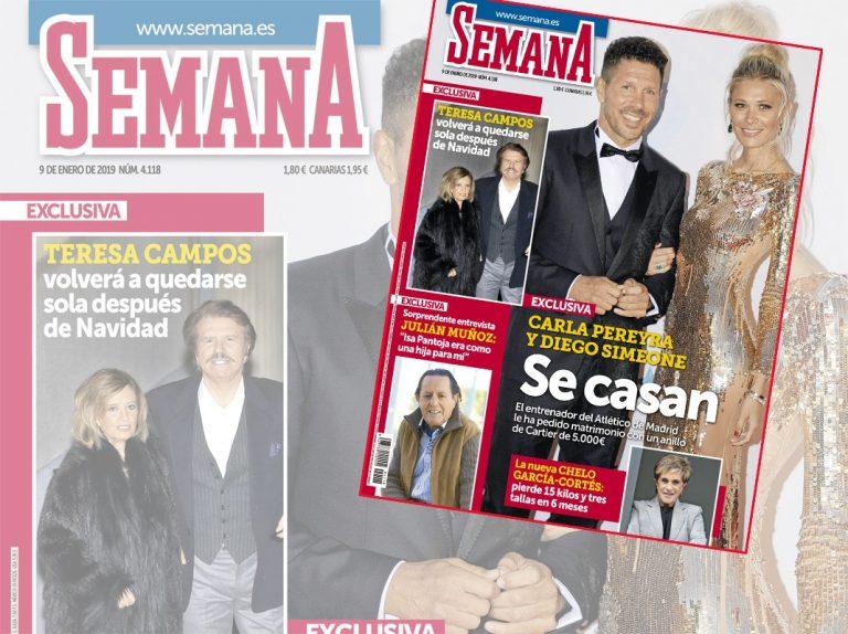 En SEMANA, Simeone pide matrimonio a Carla Pereyra con un Cartier de 5.000 euros