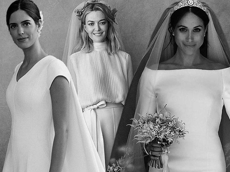 Las 14 famosas que mejor vistieron de blanco: las mejores bodas de 2018