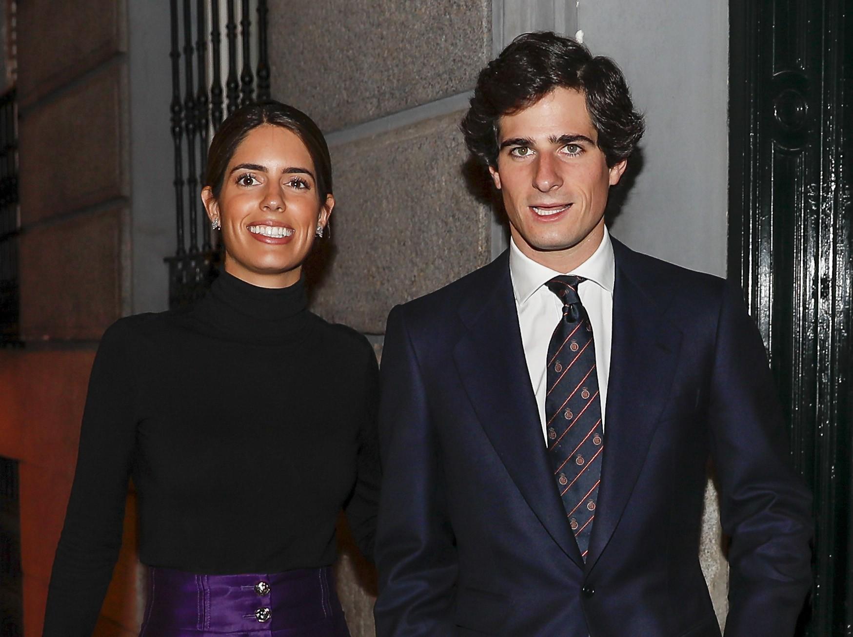 Fernando Fitz James Stuart y Sofía Palazuelo
