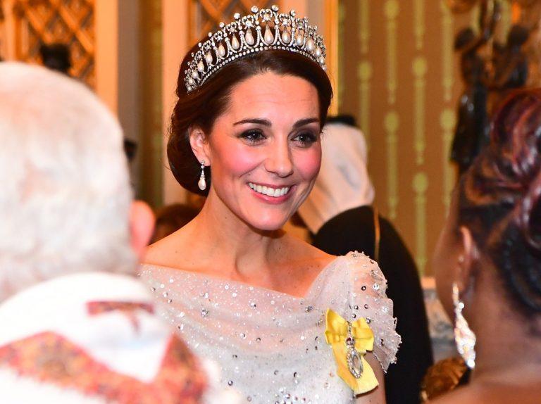 Kate vuelve a rendir homenaje a Lady Di con su tiara favorita