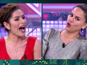 El cara a cara entre Mónica Hoyos y Miriam Saavedra: Reproches, insultos y gritos