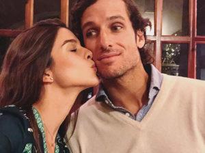 Así ha sido el romántico reencuentro entre Feliciano López y Sandra Gago