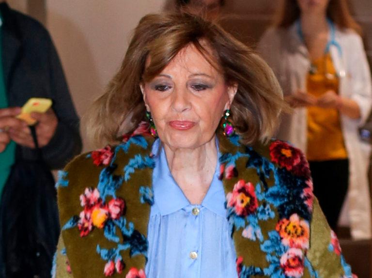 Las puertas de la casa de María Teresa Campos se abren por última vez para Bertín Osborne