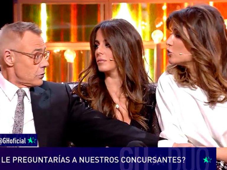 La pregunta más incómoda de Jordi González a Nagore Robles sobre su crisis con Sandra Barneda