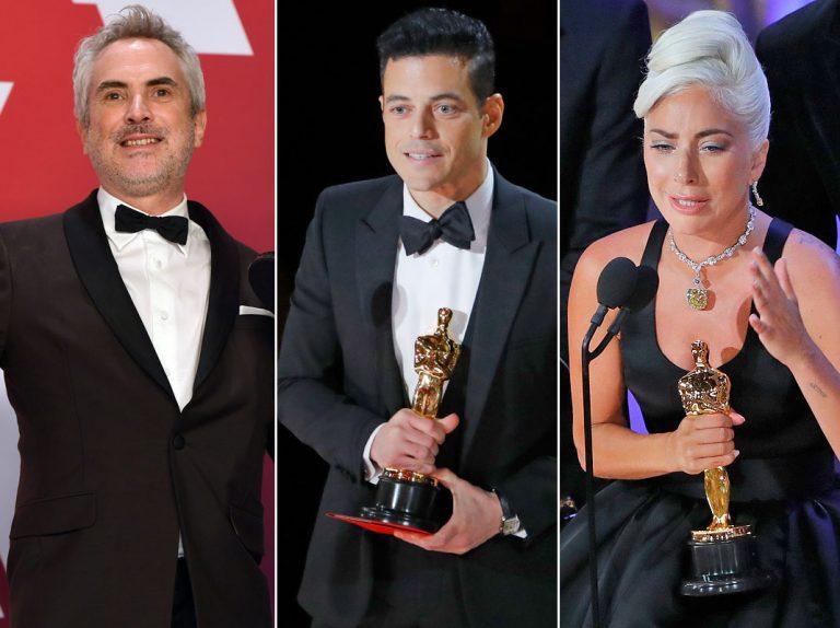 Todos los ganadores de los Oscar 2019