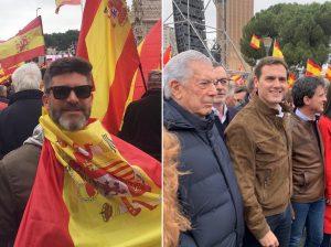 De Toño Sanchís a Vargas Llosa: Los famosos que se han manifestado en Colón