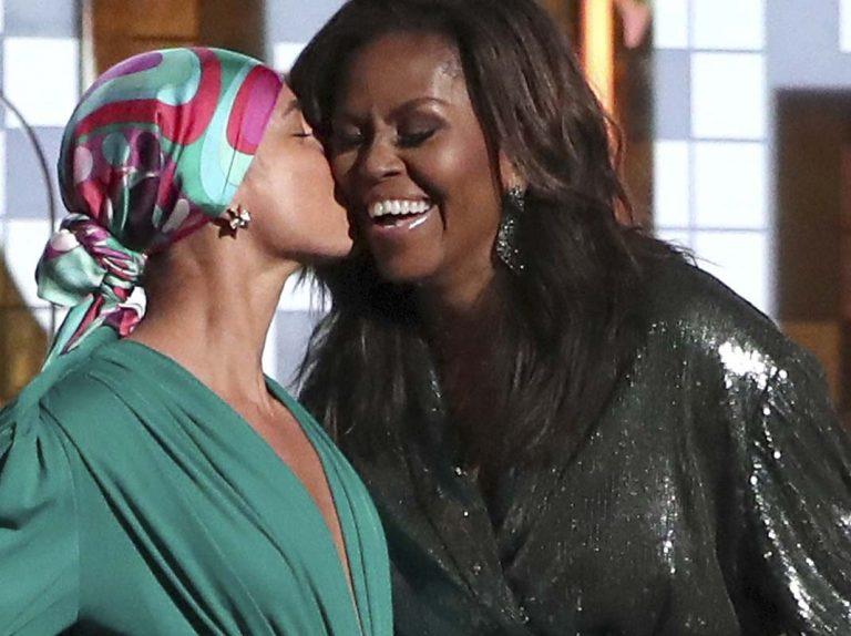 Michelle Obama, la gran sorpresa de los Grammy