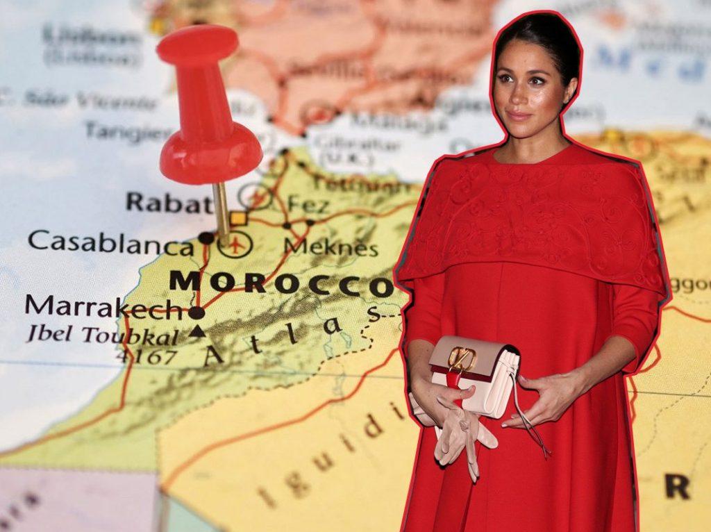 52b6f61e7 Meghan Markle  analizamos lo que llevaba en su maleta en Marruecos