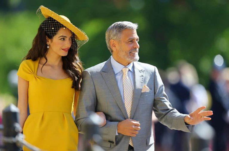 George Clooney no quiere ser el padrino del hijo de Meghan y Harry