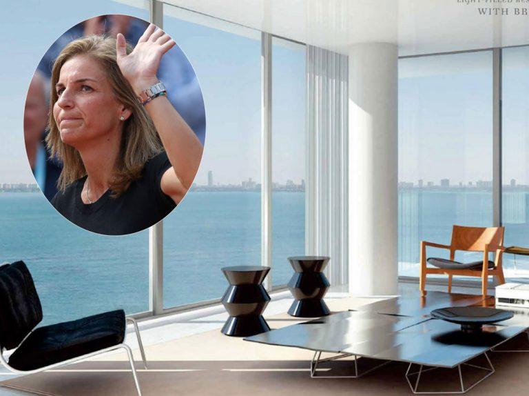 Así es el ático que Arantxa Sánchez Vicario vende en Miami