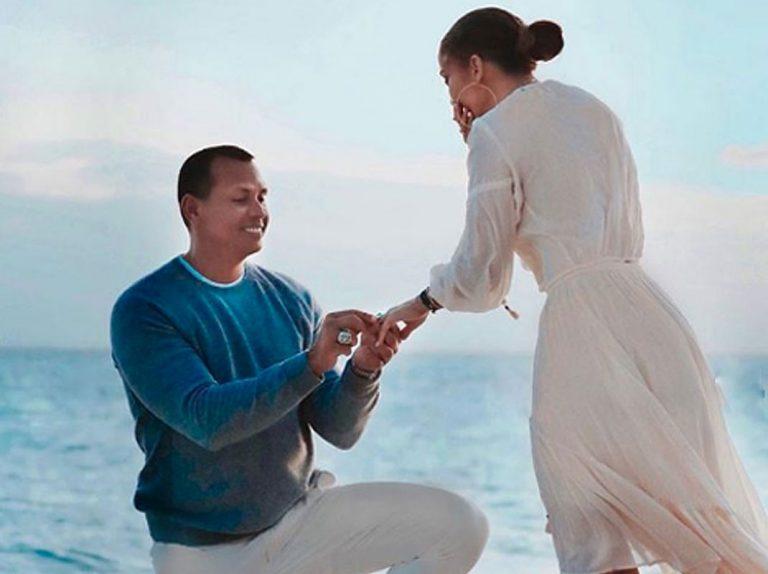 Todas las fotos de la pedida de mano de Alex Rodriguez a Jennifer Lopez