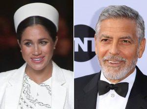 George Clooney vuelve a dar la cara por Meghan Markle: «Es injusto el trato que recibe»