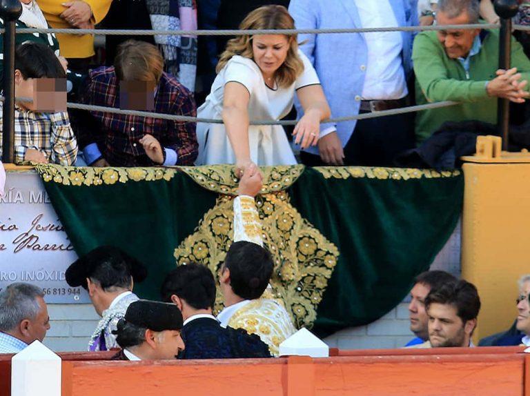El regalo de Jesulín de Ubrique a María José Campanario en su vuelta a los ruedos