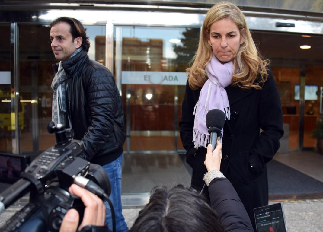Arantxa Sánchez Vicario y Josep Santacana