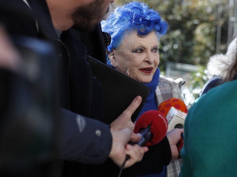 Lucía Bosé se enfrenta sola a su juicio más complicado