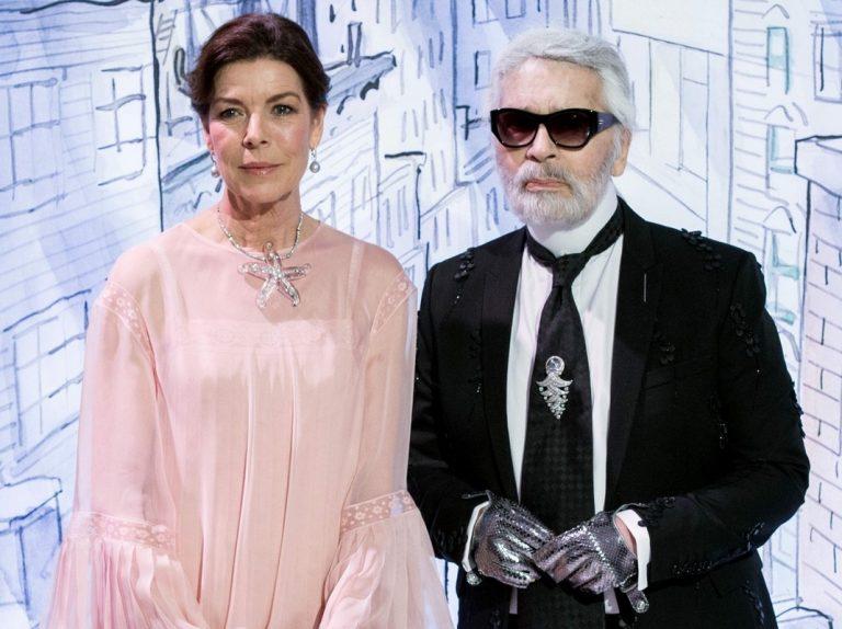 Carolina de Mónaco recuerda a Karl Lagerfeld con unas tiernas palabras