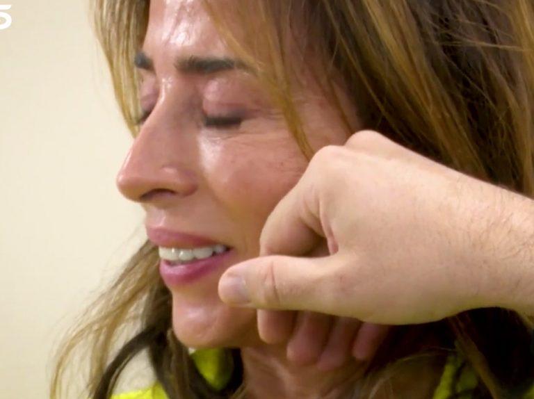 María Patiño se rompe al entrevistar a Máxim Huerta en 'Socialité'