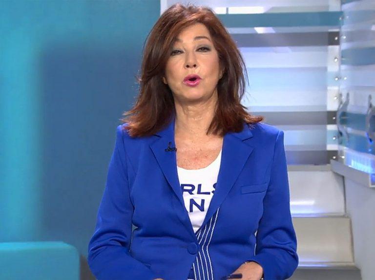 Ana Rosa Quintana, intervenida para eliminar un lunar de su cara