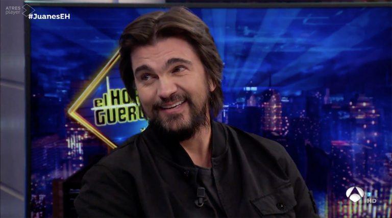 Juanes cuenta los detalles de su mayor juerga: pasó cuatro días con resaca