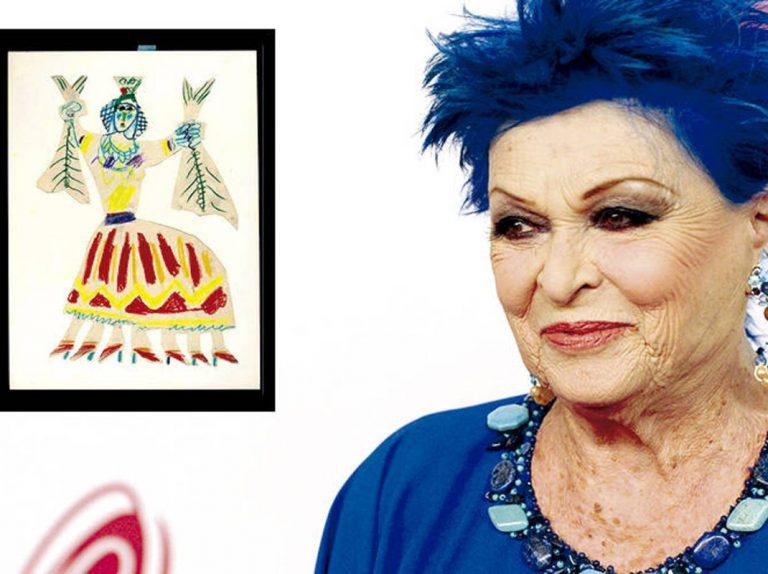 Lucía Bosé, absuelta del delito de apropiación indebida de un dibujo de Picasso