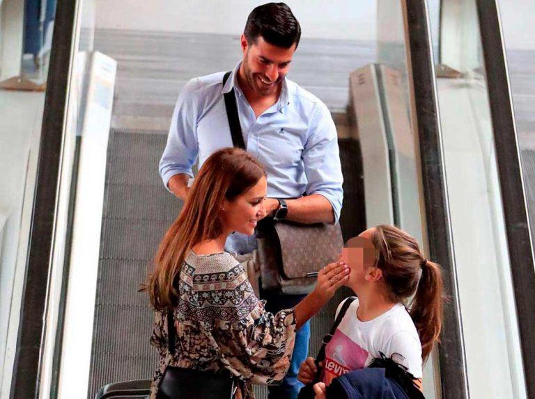 El gesto más cariñoso de Miguel Torres con la hija de David Bustamante