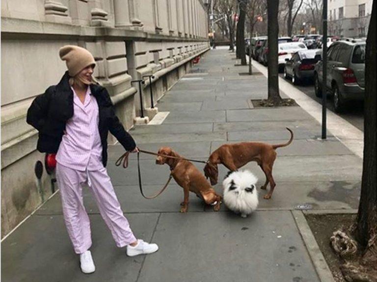 Olympia de Grecia: una princesa en pijama por las calles de Nueva York