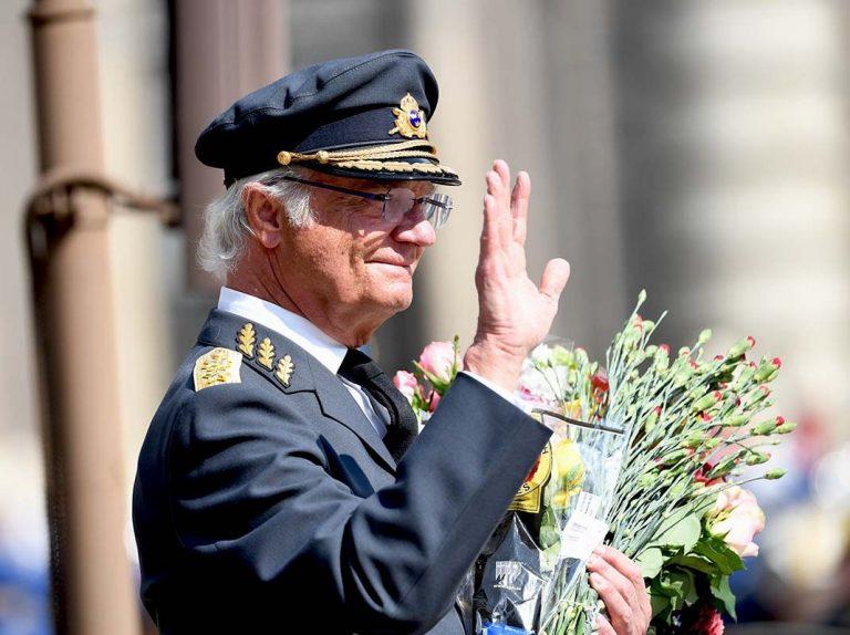 Todas las fotos del cumpleaños del rey Carlos Gustavo de Suecia